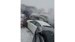 Шокирующее видео аварии 47 машин: как это бывает на скользкой дороге