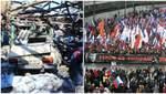 Головні новини 24 лютого: теракт проти мирних жителів на Донбасі й масові марші пам'яті Нємцова