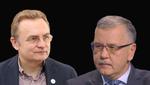 Прес-конференція Андрія Садового та Анатолія Гриценка: відео