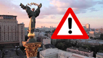 У Києві Audi протаранила зупинку: фото, відео
