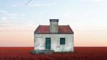 Одинокие дома: красивая скромность в коллажах португальского фотографа