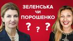 Марина Порошенко чи Олена Зеленська: хто з майбутніх перших леді стильніша