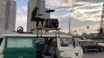Украинские рокеры добавили драйва затору на Шулявке (видео)