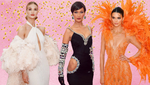 """""""Ангелы"""" Victoria's Secret удивили нарядами на Met Gala 2019: метровые шлейфы, латекс и декольте"""