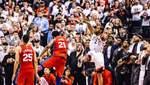 """Точний кидок із сиреною вивів """"Торонто"""" у півфінал плей-офф НБА: відео"""