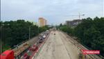 Как ремонтируют Борщаговской мост: видео