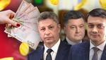 Державне фінансування: скільки грошей отримають партії після виборів