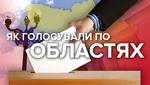 Парламентські вибори 2019: за кого та як голосували в областях України