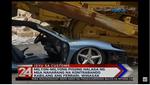 Спорткар Ferrari раздавили бульдозером: видео
