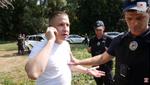 В Белой Церкви пьяный прокурор едва не подрался с патрульными: видео