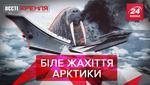Вєсті Кремля: Моржі напали на флот РФ. Цинічний Трамп проти екоактивістки Грети
