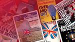 Не до побачення – прощавайте: Brexit на обкладинках британських медіа