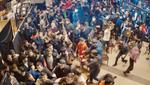 На турнире ММА в Москве произошла массовая драка между зрителями и спортсменами – видео