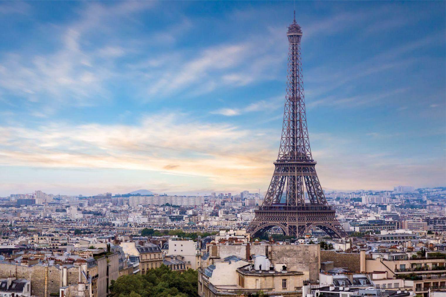 ейфелева вежа оглядовий майданчик визітивка парижа