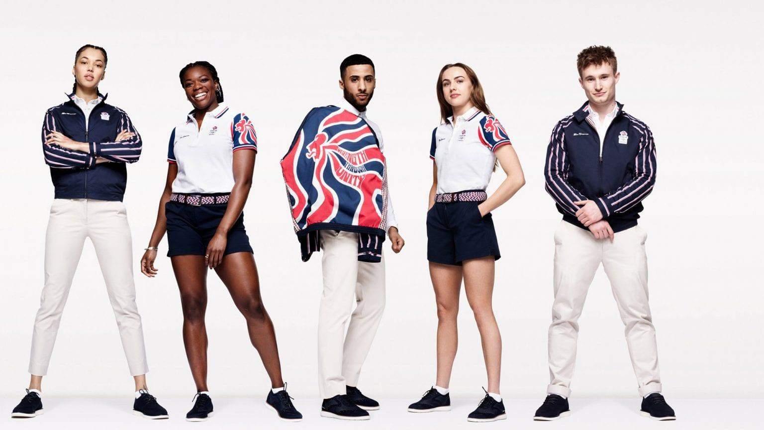 Збірна Великої Британії форма Олімпіада 2020