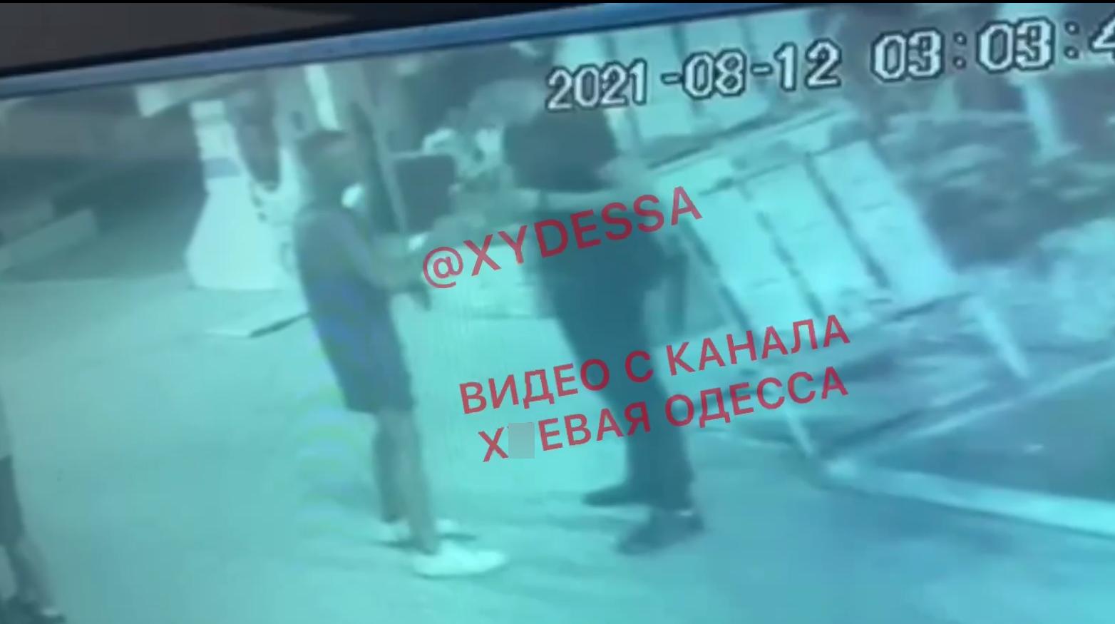 Напад на нацгвардійця, Нацгвардія, Одеса, Кримінал, поліція