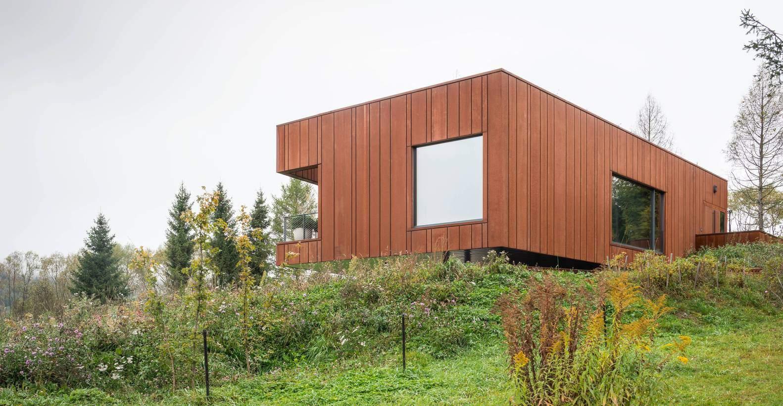 Дерев'яна кострукція дому  / Фото Archdaily