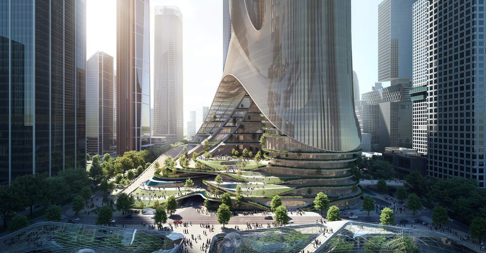 Казковий вигляд нового комплексу / Фото Archdaily