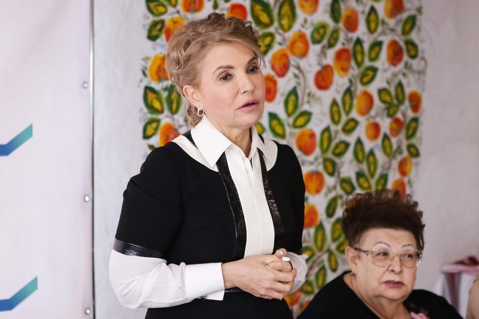 Ульяхіна і Тимошенко