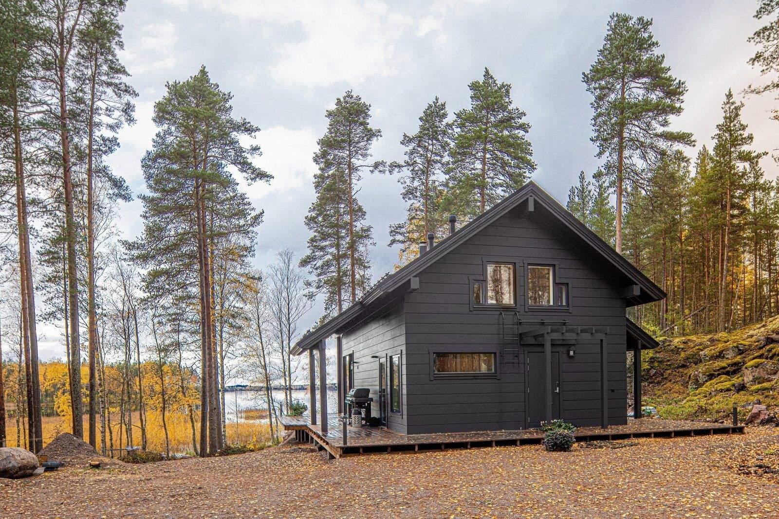 Сучасний та зручний дім у фінському лісі / Фото Dwell