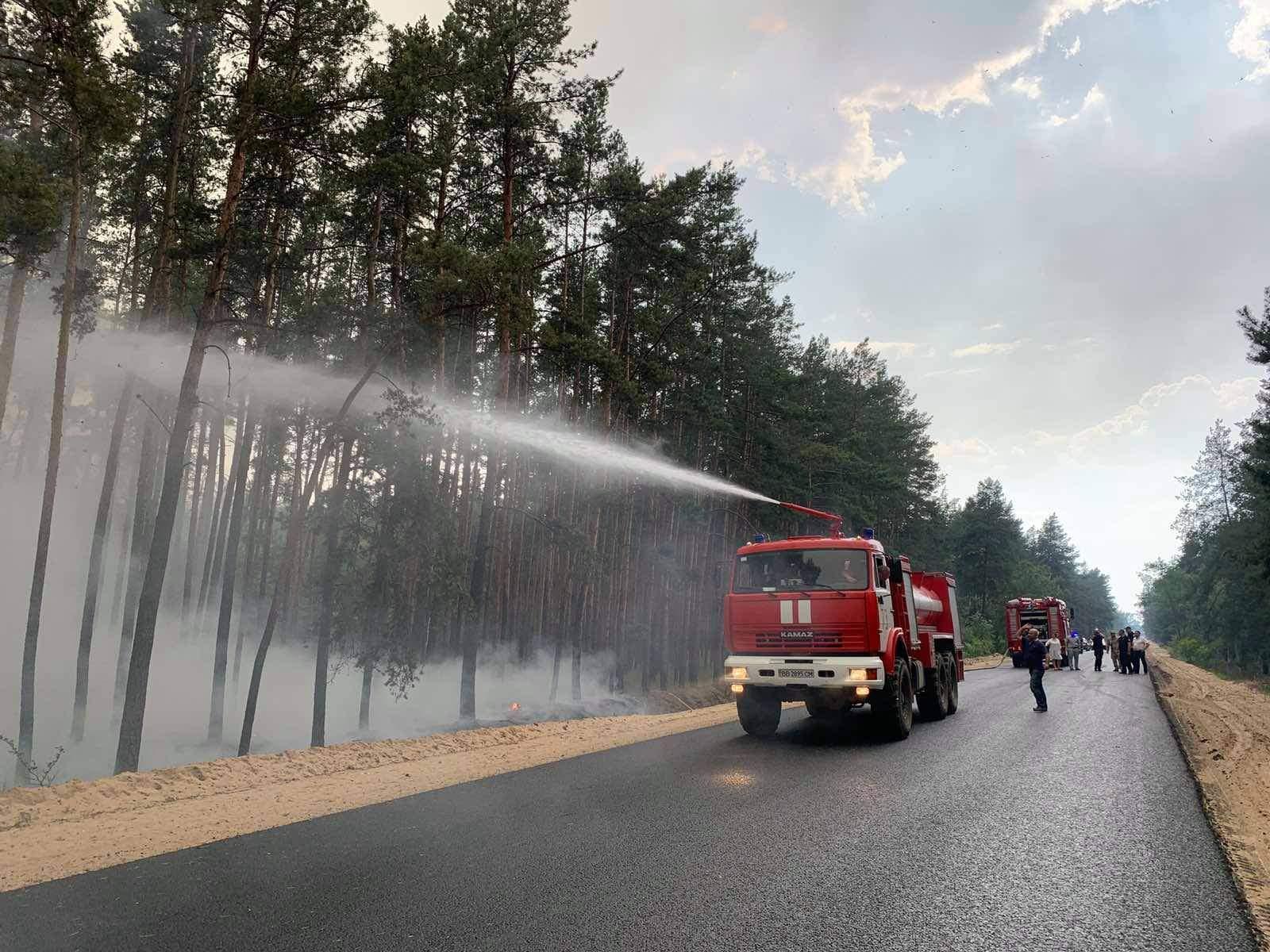 пожежа на Луганщині