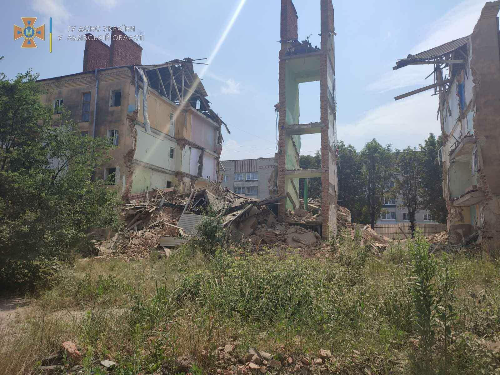 Обвалився будинок у Дрогобичі