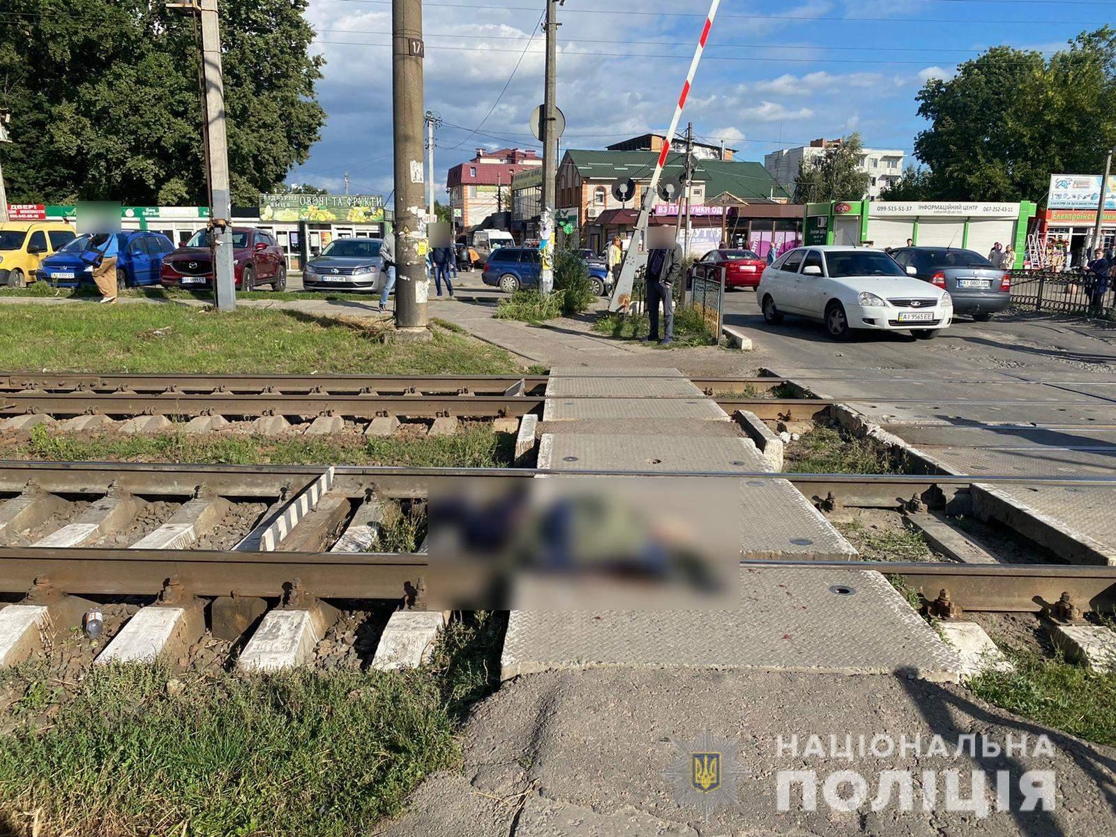 загибель 15-річного хлопчика на залізниці