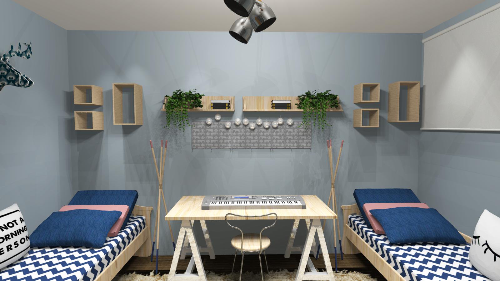 Скандинавський дизайн зробить навіть маленьку кімнату затишною