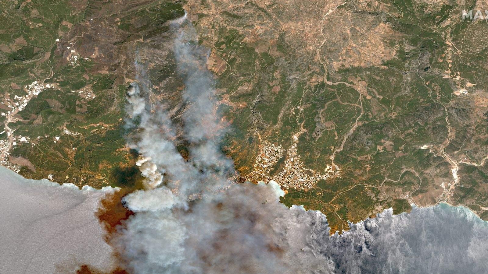 Пожежі у Туреччині