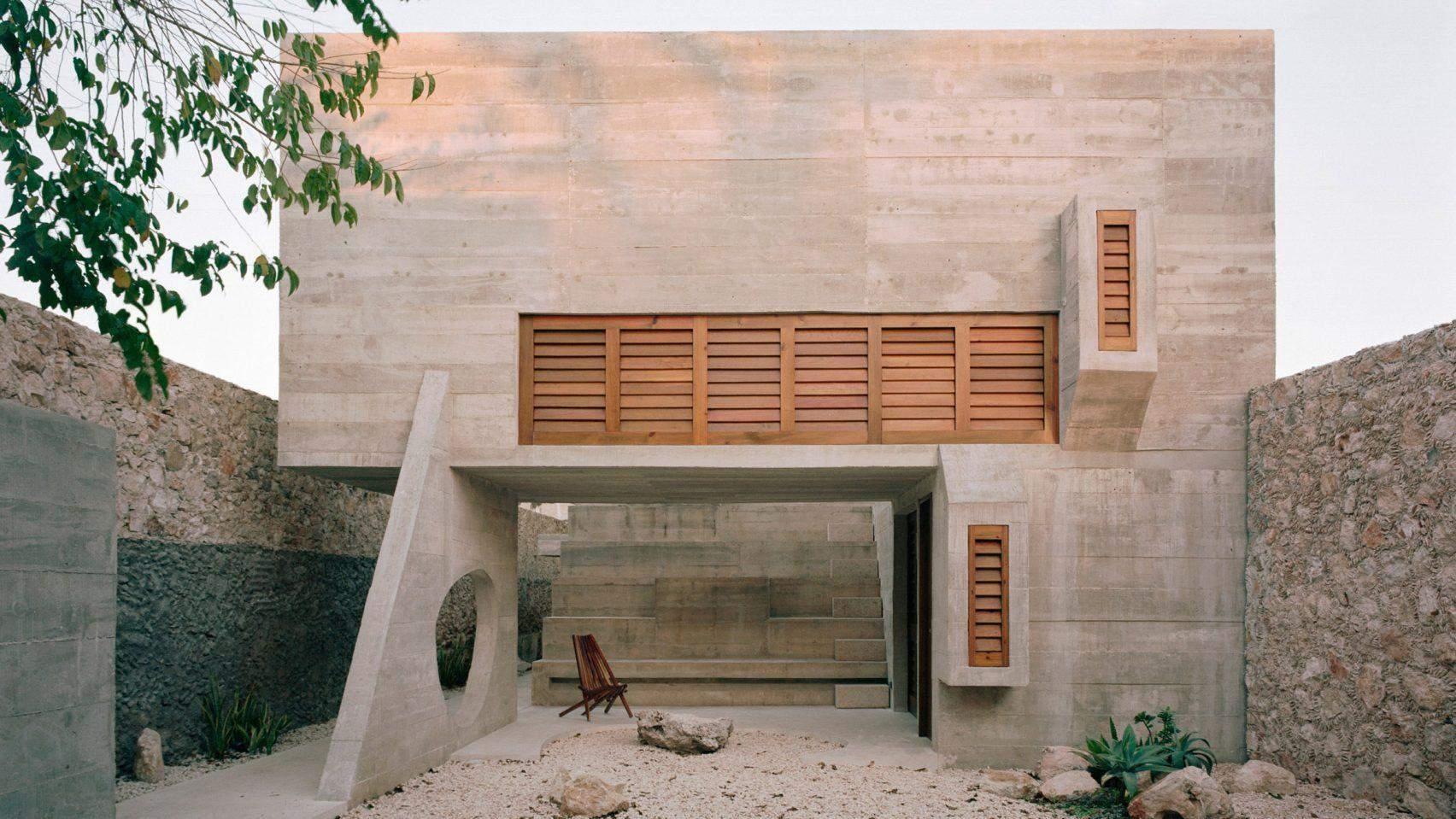Аскетична будівля дому Мая у Мексиці  / Фото  Dezeen