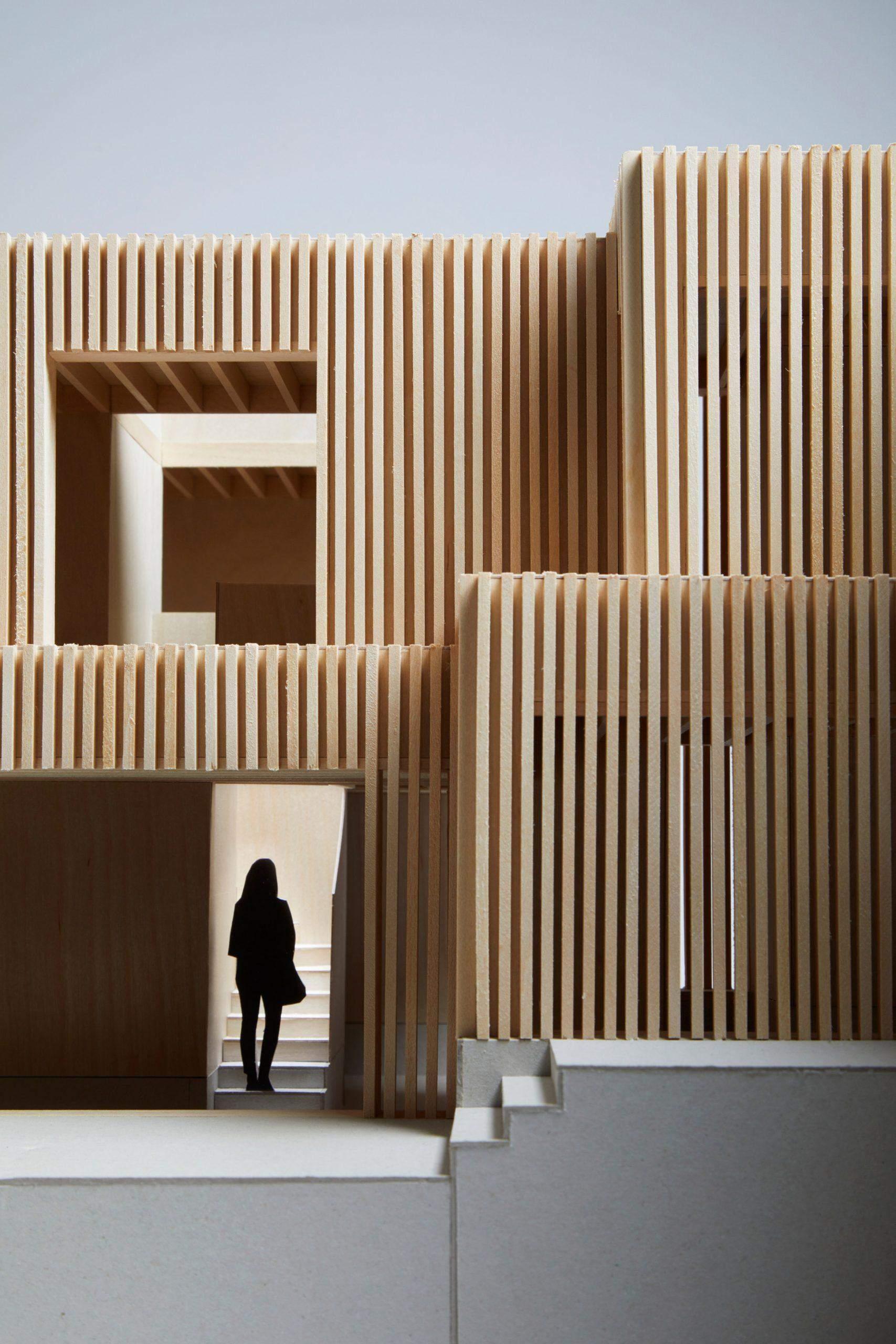Фасад буде виключно із дерева / Фото Deezen