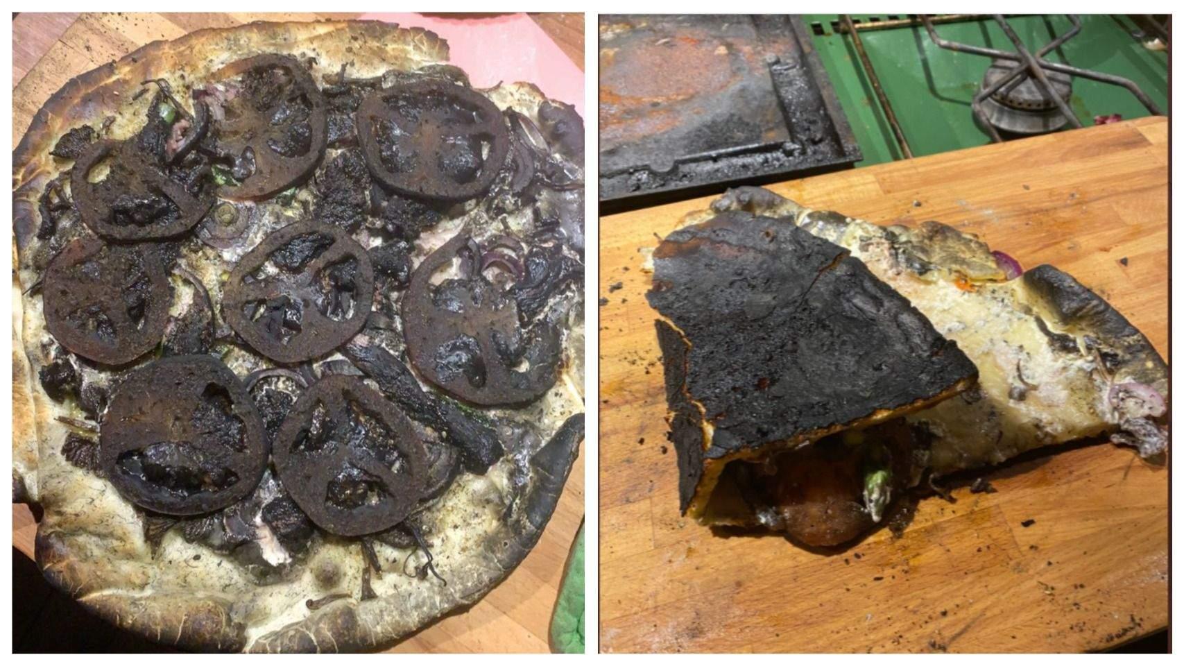 Що ж, піца на дровах вийшла просто чудовою
