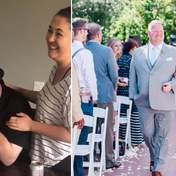 Дівчина попросила вітчима повести її до вівтаря у день весілля: зворушлива реакція чоловіка