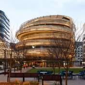 Обвита стрічками: в Австралії побудували незвичну шестиповерхову будівлю – фото