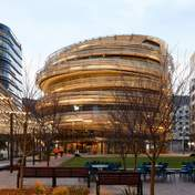 Обвитая лентами: в Австралии построили необычное шестиэтажное здание – фото