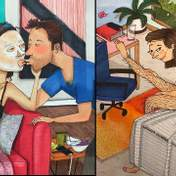 Небритые ноги и маска на лице: забавные комиксы о реальной жизни в длительных отношениях