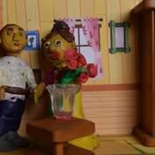 Школьники делают мультфильмы из пластилина: фото и видео