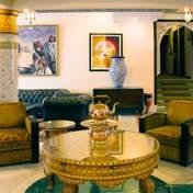 Інтер'єр вітальні в близькосхідному стилі: особливості облаштування, кольори та меблі – фото