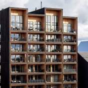 З суцільного дерева: як виглядає найвища будівля у Швеції – фото