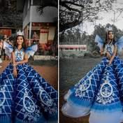 Студент самостоятельно создал идеальное платье на выпускной для своей сестры – фото