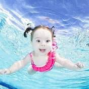 Фотограф запустив цікавий проєкт з малюками, які плавають під водою: милі світлини