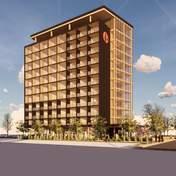 У Канаді збудують 12-поверховий дерев'яний готель