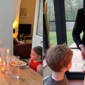 Тато зіграв роль офіціанта, влаштувавши дітям романтичну вечерю на карантині: миле відео