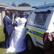 Пара устроила свадьбу на карантине: их арестовали в тот же день – фото