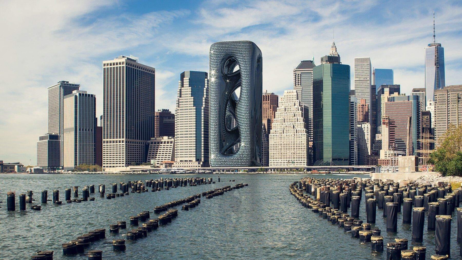 На Мангеттені сконцентрована найвища густота населення в США   / Фото Designboom
