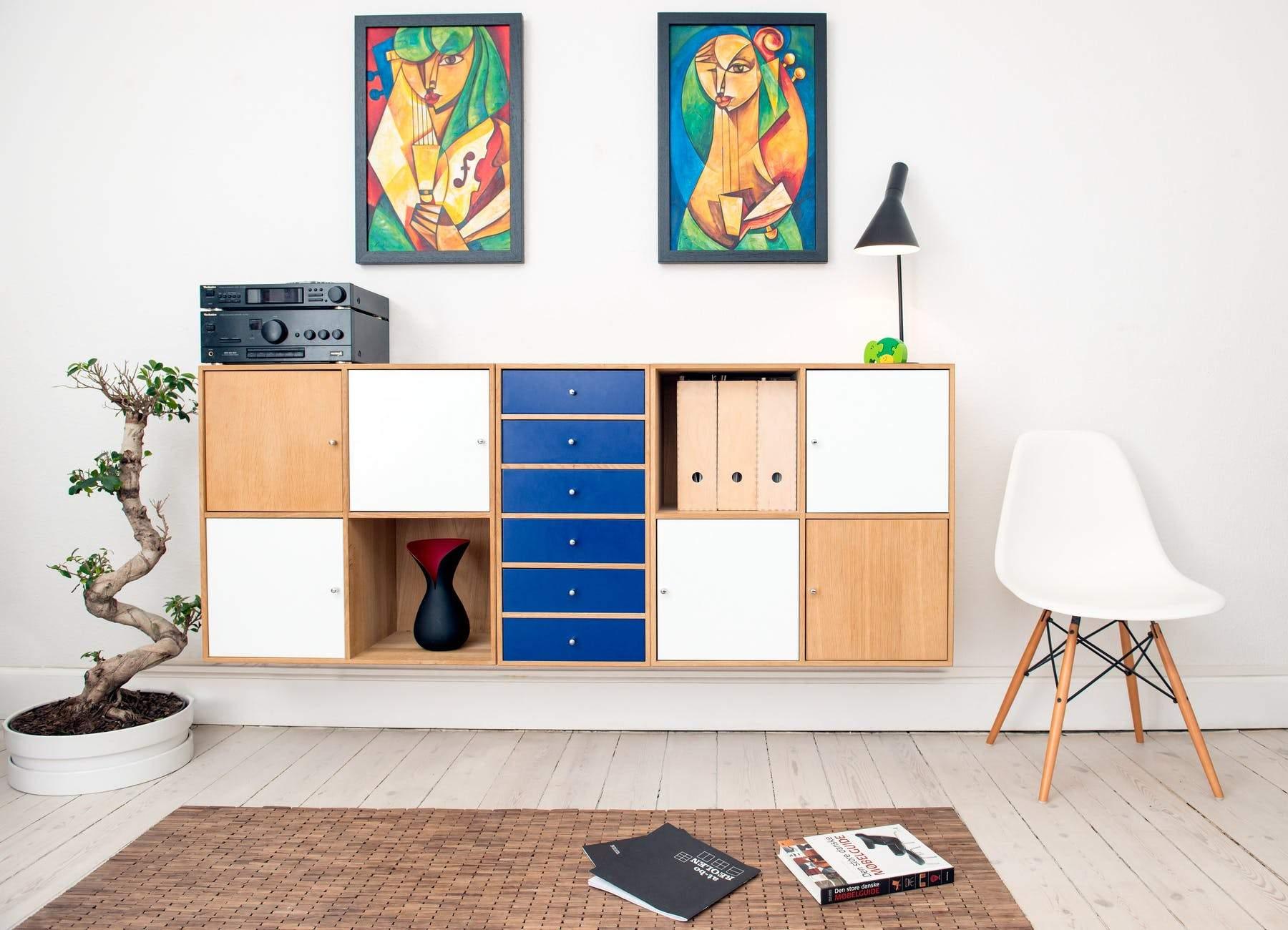 Обирайте меблі зі закритими ящиками