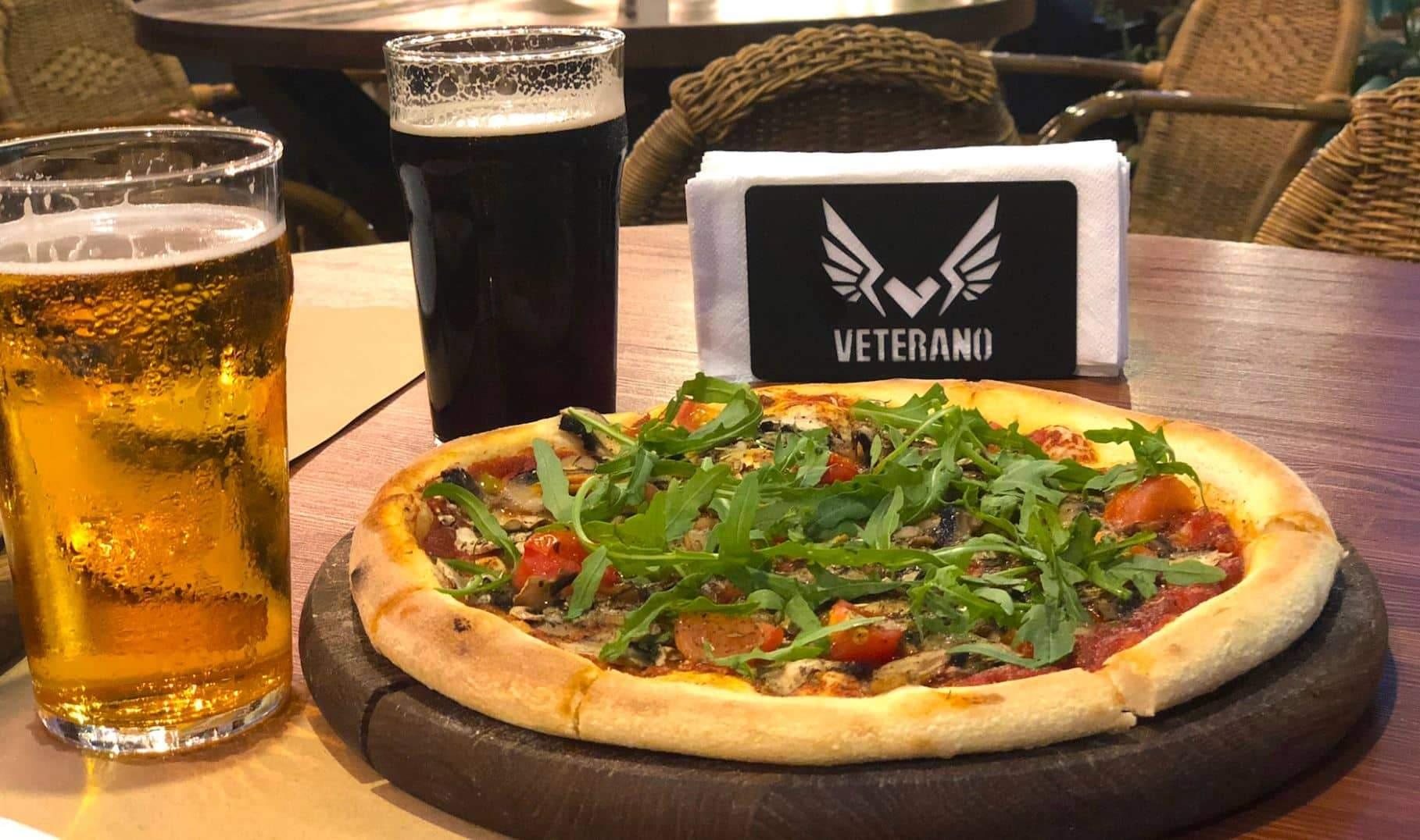 Заклади Veterano Pizza можна знайти у багатьох містах України