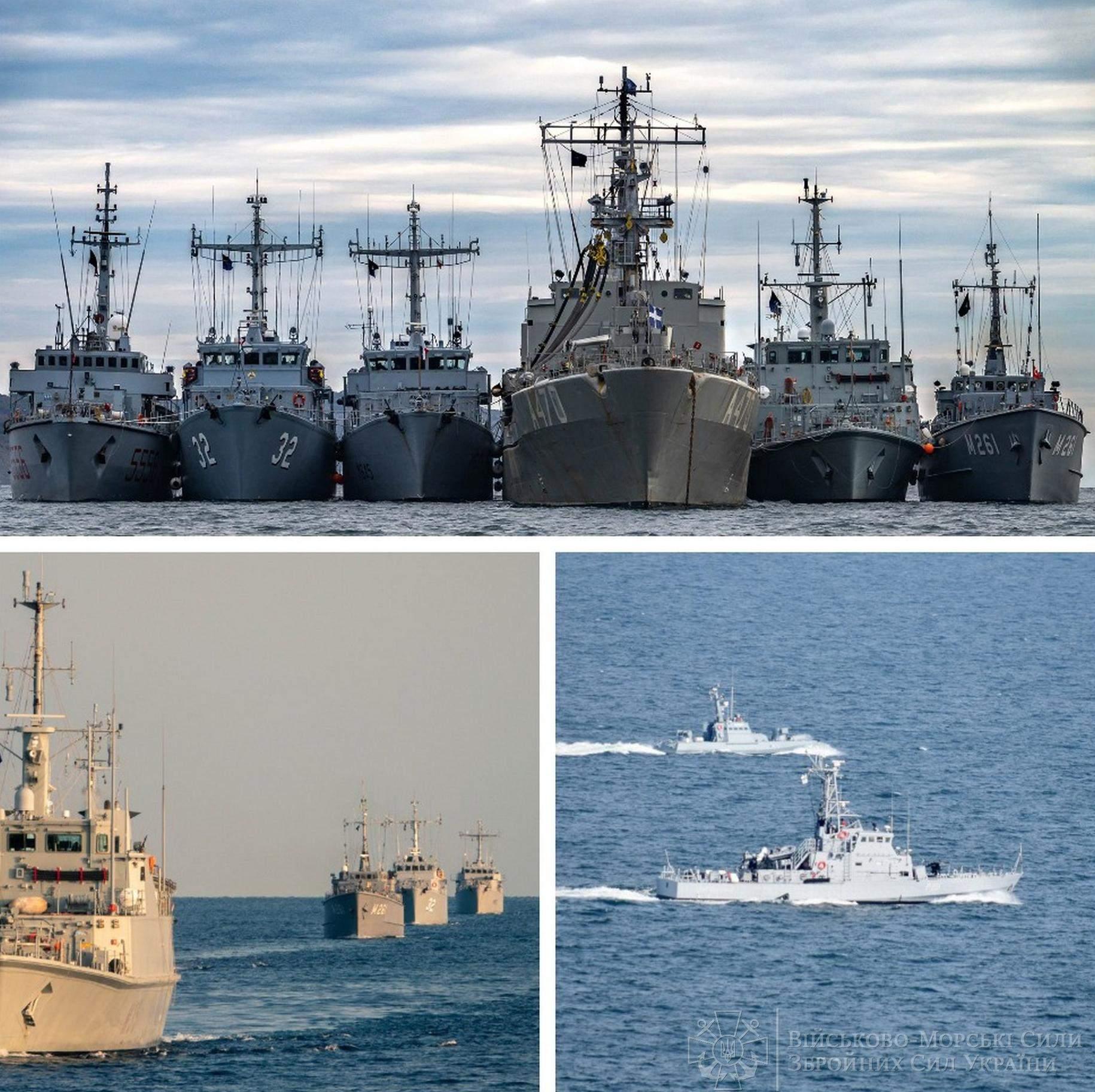 ВМС України та кораблі НАТО