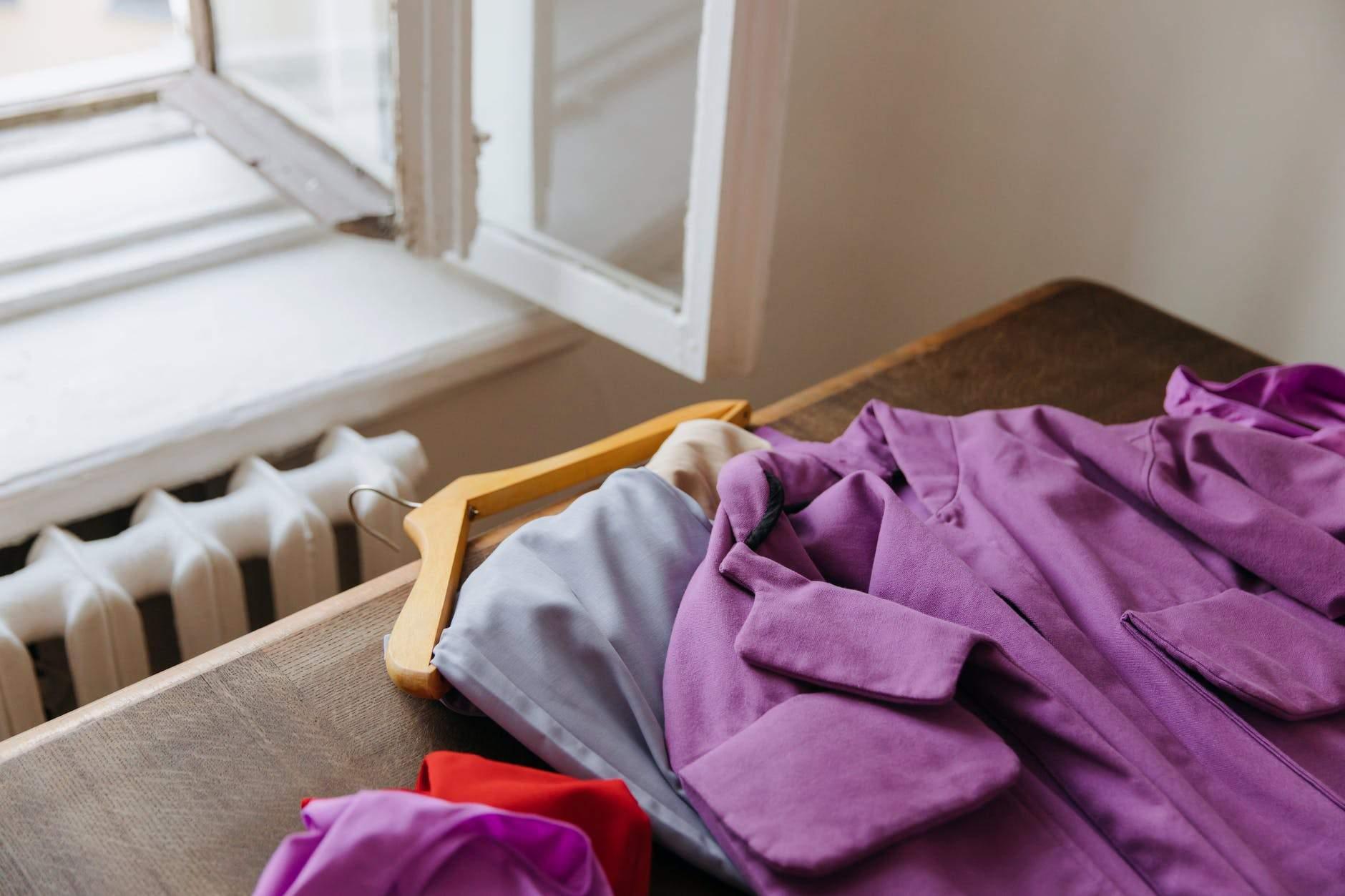 Продумайте місця для зберігання одягу