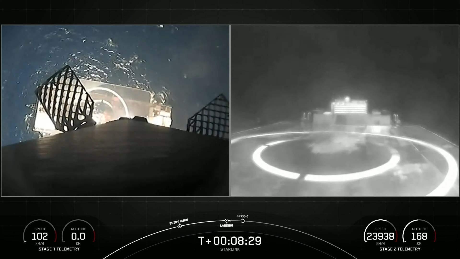 Приземлення Falcon 9